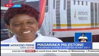 Madaraka Express recognizes it two millionth passenger