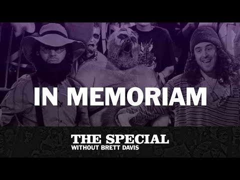 In Memoriam feat. Wally Whistle (Colin Burgess) | The Special Without Brett Davis