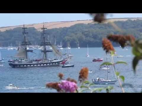 Parade-Tall Ships,August 31,2014-River Fal Estuary