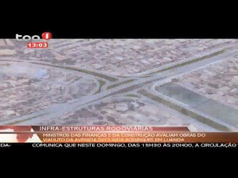 Luanda: Obras da Avenida Deolinda Rodrigues
