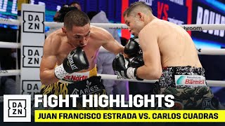 HIGHLIGHTS | Juan Francisco Estrada vs. Carlos Cuadras 2