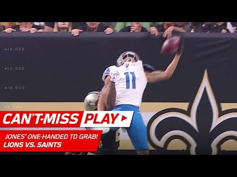Marvin Jones' Unbelievable One-Handed TD Grab! | Can't-Miss Play | NFL Wk 6 Highlights