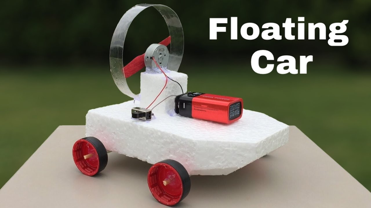 How To Make A Car That Can Swim (Amphibious Car)
