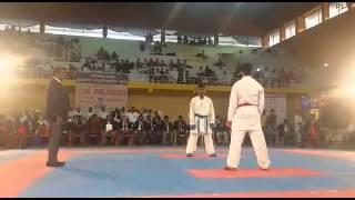 Sharat Jango Kumite Performance in Chennai Open Tournament-3