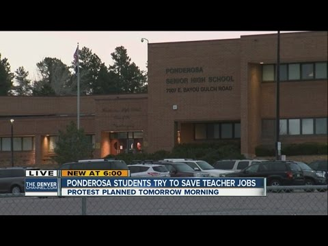 Ponderosa students plan protest to save teacher jobs