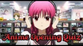 Anime Opening Quiz: Very Easy-Very Hard (50 Openings)