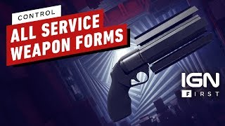 Control: Every Weapon Form in Action - IGN First
