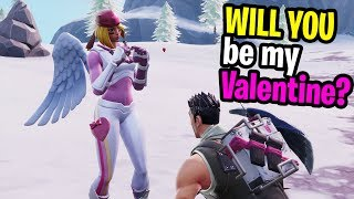 SEARCHING for my Valentines in Fortnite Random Duos and this happened...