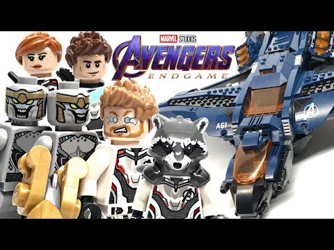 LEGO Avengers Endgame Ultimate Quinjet review! 2019 set 76126!