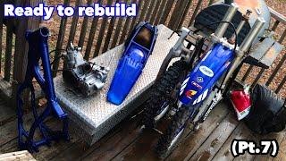 Dirt Bike Ready to Rebuild - Yz125 Project Build (Pt.7)