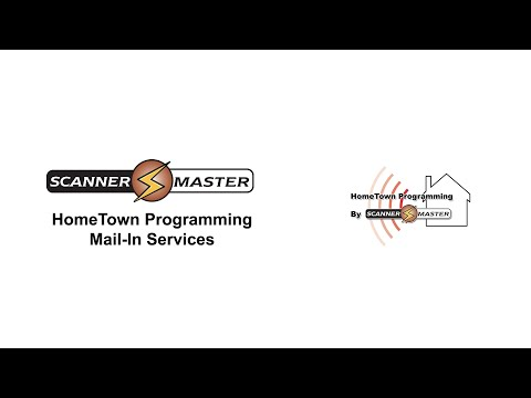 Scanner Master HomeTown Programming Mail-In Services