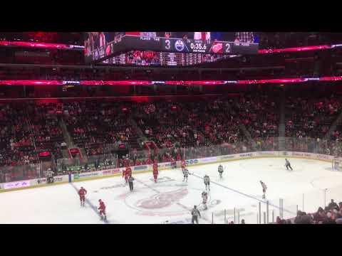 Red Wings V.S. Oilers 11/3 - Goal 5 (DET)