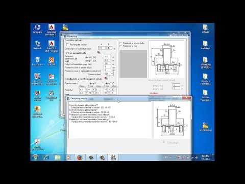 កម្មវិ់ធីគណនាគ្រឹះ Foundation Design V12.1-Single Pile and Group Pile