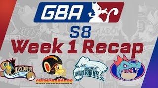 Week 1 GBA Recap! w/ PokeaimMD, Chimpact, Gator & Emvee! Pokemon Ultra Sun and Moon!