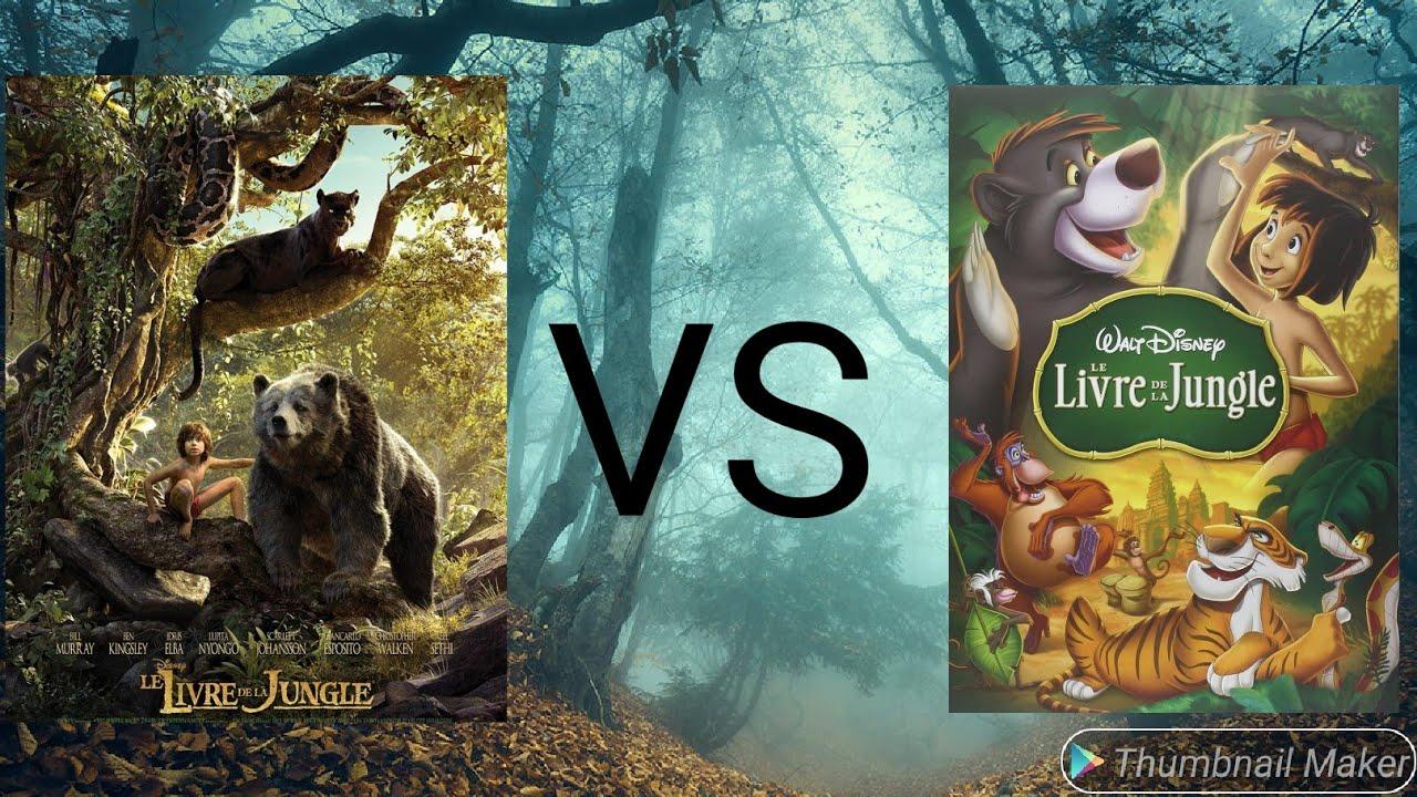 Personnages Du Livre De La Jungle Vs Personnages Film Live