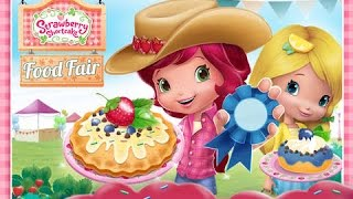 Strawberry Shortcake Food Fair Part 1 - Best iPad app demo for kids