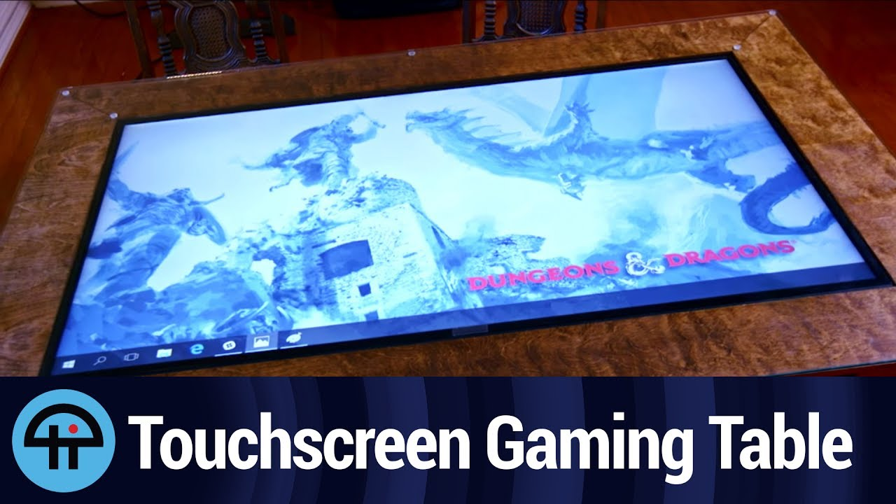 Touchscreen Video Table For Dungeon Masters Youtube