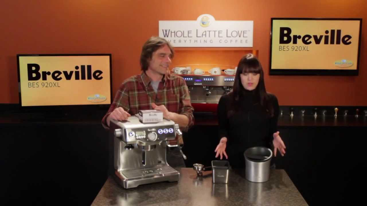 New Brew Breville Knock Boxes Amp Water Filters Youtube