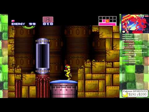 Super Metroid completely normal, definitely not rotated 90 d