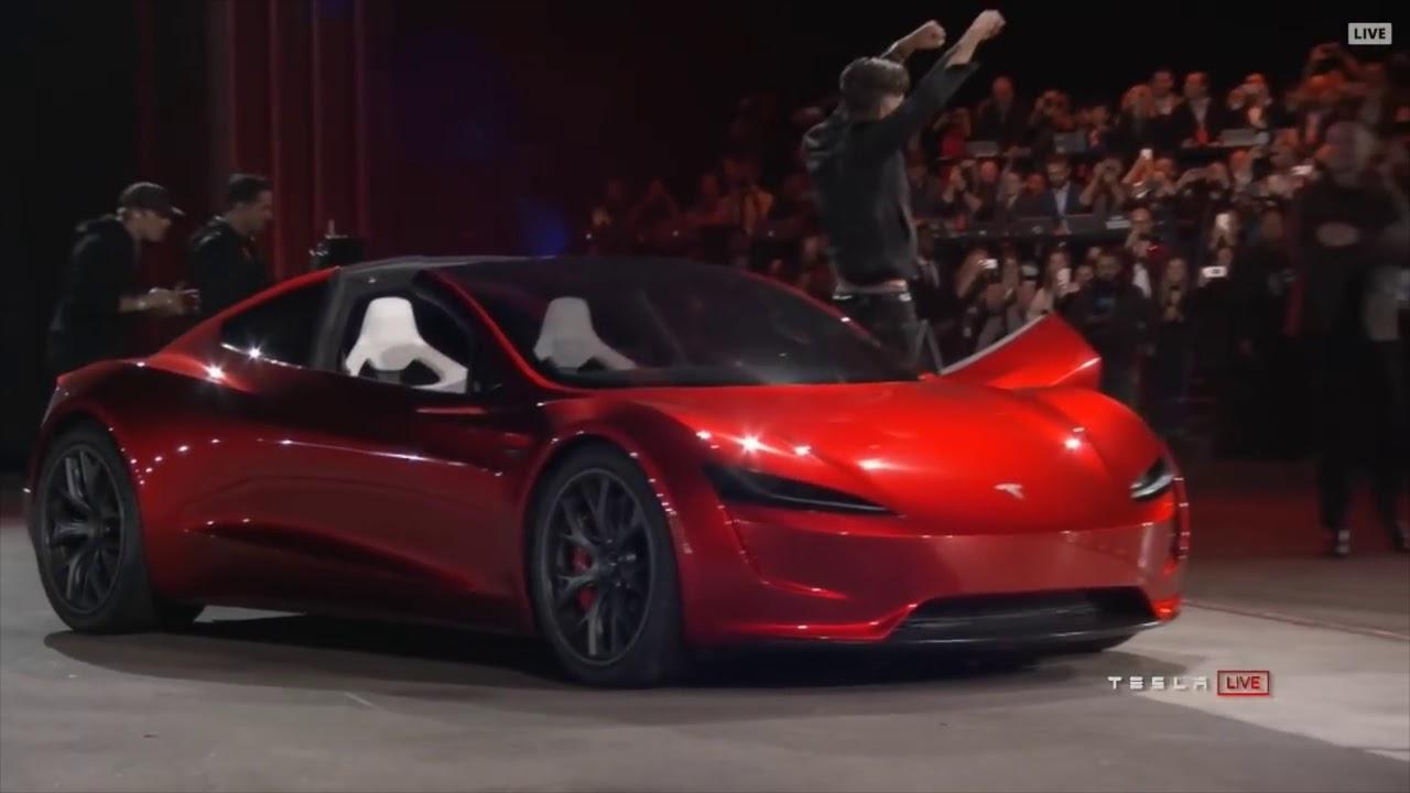 Tesla News Roadster With Jet Engines