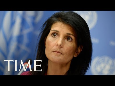 Nikki Haley Speaks About The U.S.'s Future In The Human Rights Council | TIME