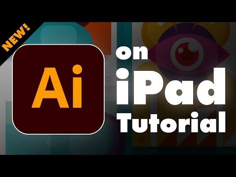Illustrator on iPad Tutorial - Complete App Guide!