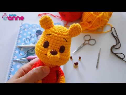 Crochet Amigurumi Winnie The Pooh Free Patterns   Crochet bear ...   360x480