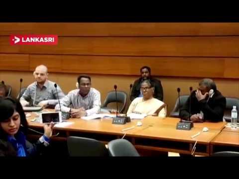 Mass Perception Between TGTE And Srilanka Representative In UN