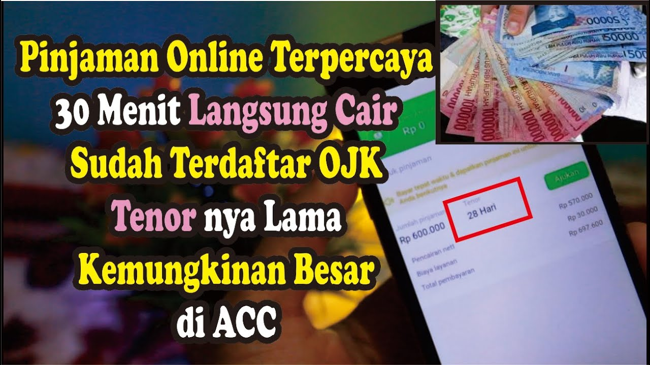 3 Aplikasi Pinjaman Online Langsung Cair Hanya Gunakan Ktp Pinjaman Online Ojk 2020 Youtube