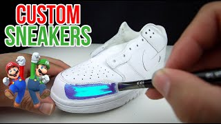 Custom SUPER Mario Sneakers!