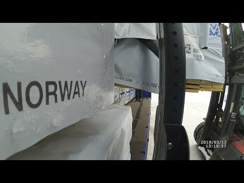 Ч-2 Как грамотно крепить груз (Дальнобой по Скандинавии)