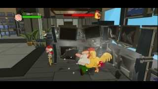 Family Guy Back to the Multiverse - Chicken Fight