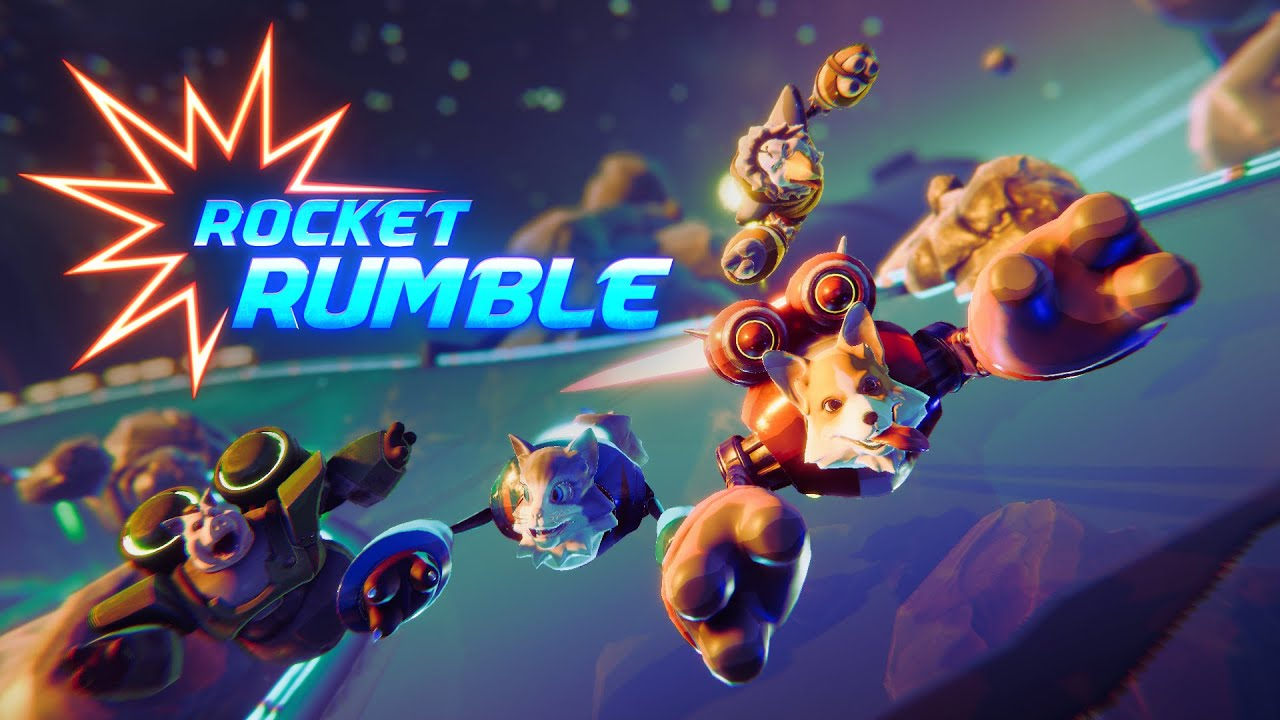 Racing Party Game Rocket Rumble Revealed in First Trailer & Closed Beta Test Announcement