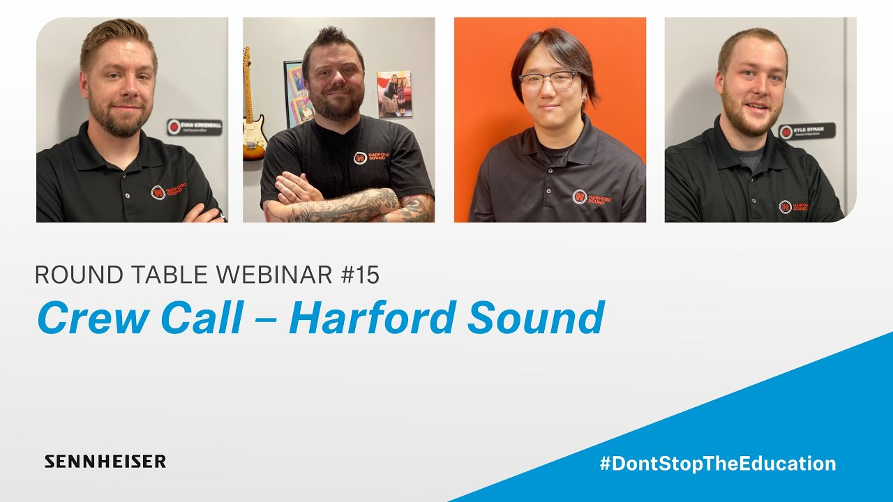 Crew Call – Harford Sound | Sennheiser