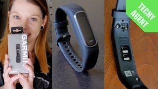 Garmin Vivosmart 4 - Quick Unboxing (Review coming soon!)