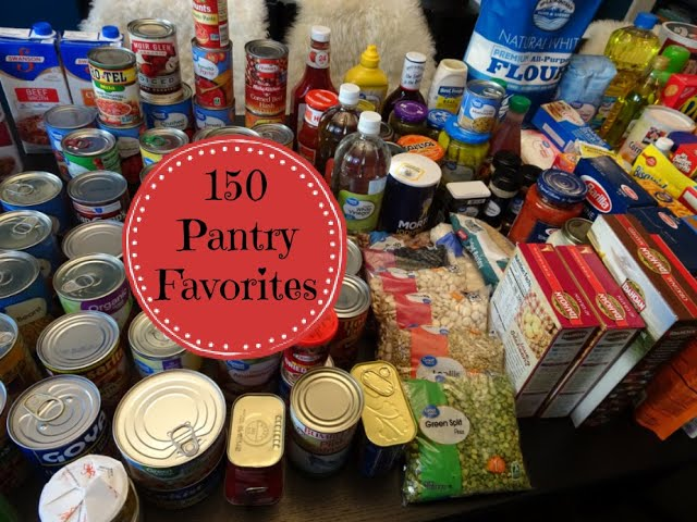 150 Pantry Favorites Walmart Grocery Haul Youtube