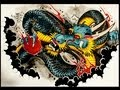 How to draw a Dragon Tattoo Style by thebrokenpuppet