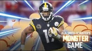 JuJu Smith Schuster Plays Fortnite!!! - NFL Skins #1