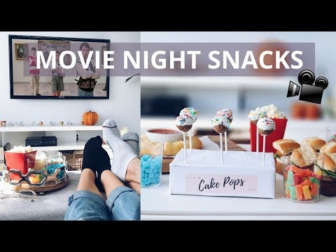MOVIE NIGHT SNACKS (VEGAN!)