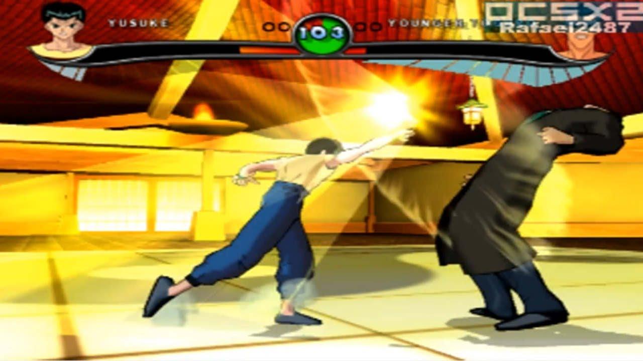 jogo yu yu hakusho ps2