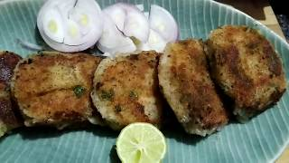 Easy and Instant Crispy Cutlets Recipe in Hindi or Urdu | Tasty foodz.