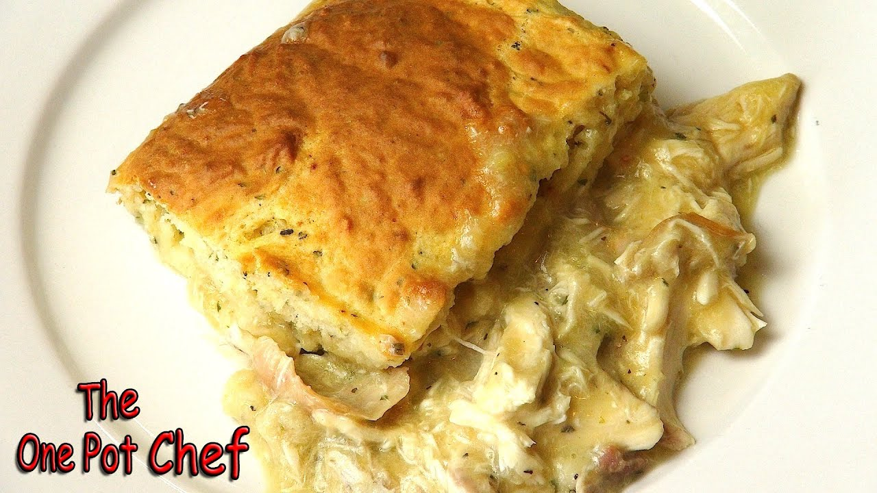 Creamy Chicken and Scone Bake (2012 Version) - RECIPE
