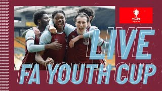 FA YOUTH CUP LIVE | WEST HAM UNITED v ARSENAL