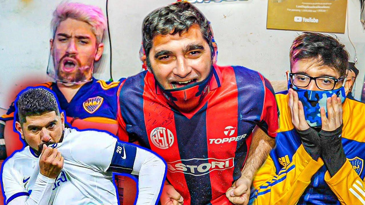 Reacciones de Amigos | Boca vs San Lorenzo | Torneo Liga Profesional 2021