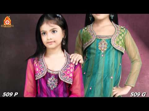 Unstiched Salwar Kameez for Girls [Silk India]