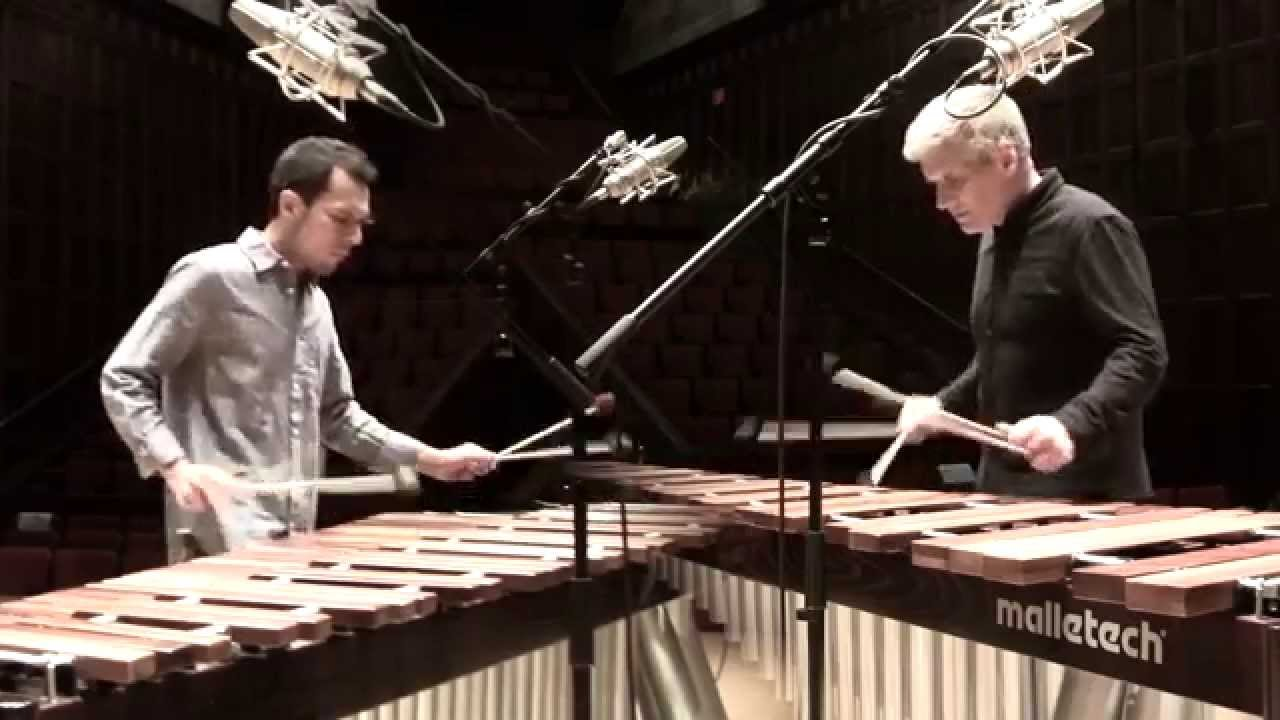 Catching Shadows - marimba duo by Ivan Trevino