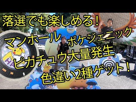 【ポケモンGO】落選ヒコボン、横浜GOフェスとそれ以外を大いに楽しむの巻