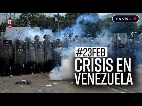 #23FEB Tensión en la frontera por ingreso de ayuda a Venezuela | El Espectador