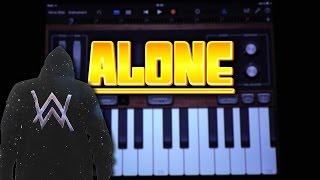Alan Walker - Alone (GARAGEBAND TUTORIAL)