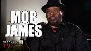 Mob James on Joining Mob Piru, Getting Shot 4 Times, Retaliating Every Time (Part 1)